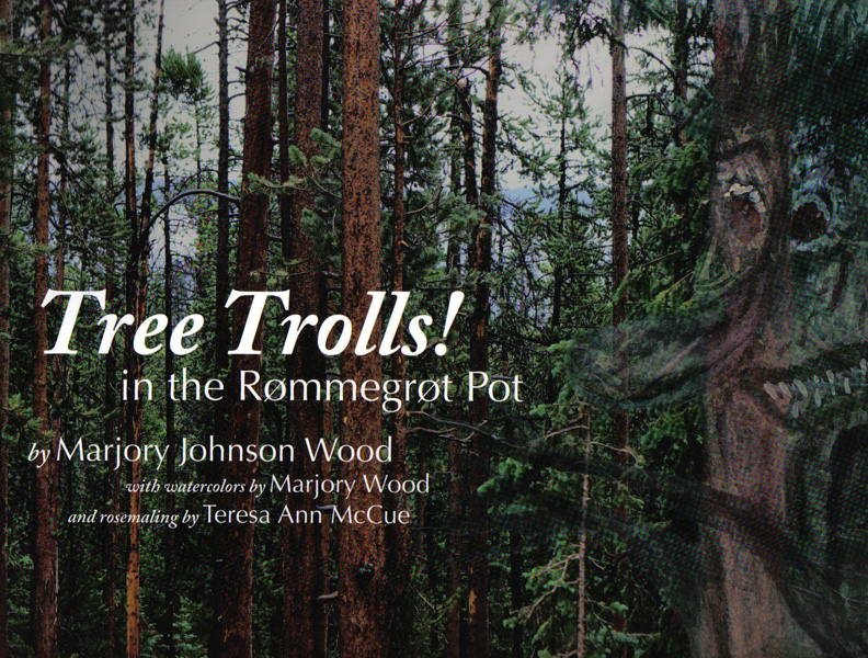 Tree Trolls! in the Rømmegrøt Pot